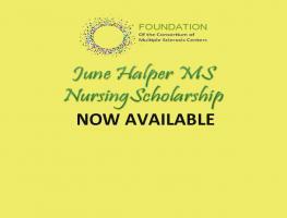 June Halper MS Nursing Scholarship